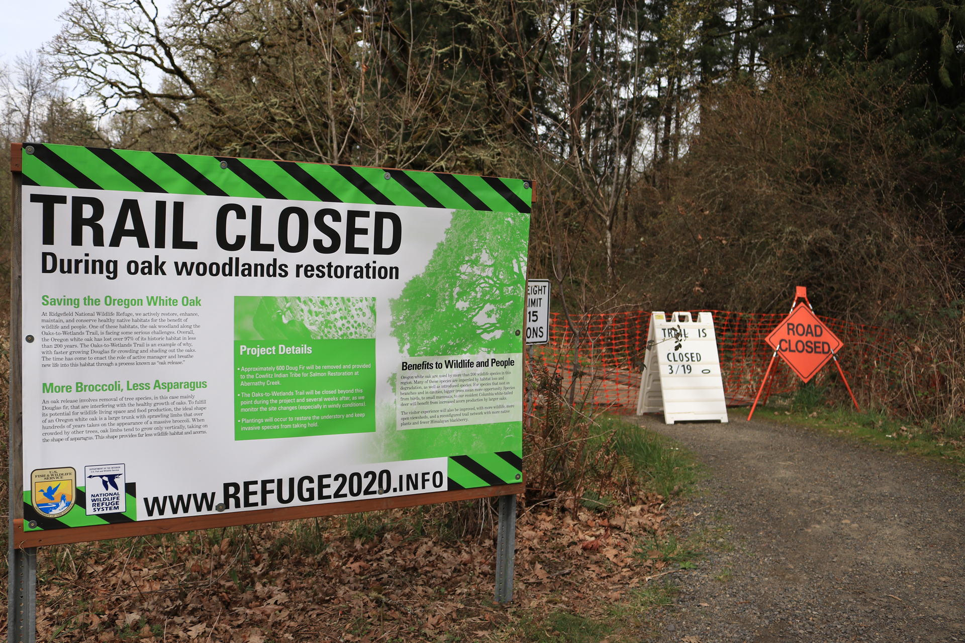 Trail Remains Closed