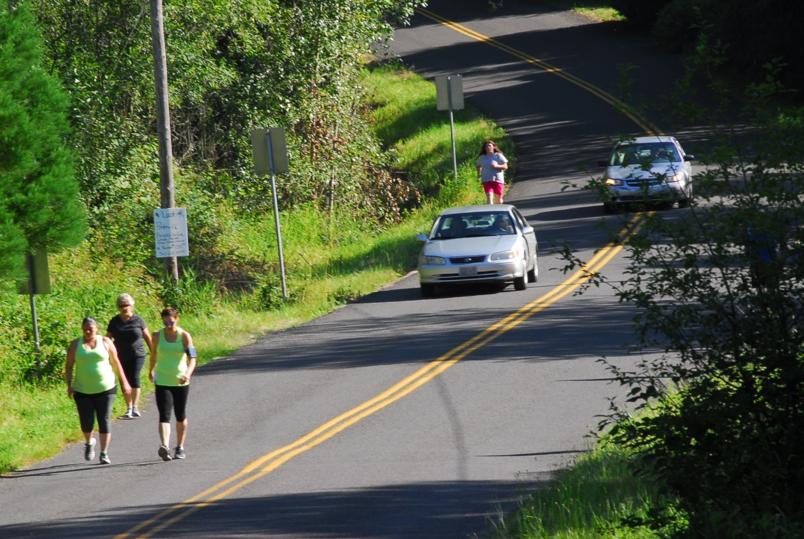 Getting to Ridgefield National Wildlife Refuge without a car is about to become a whole lot safer than this scenario.