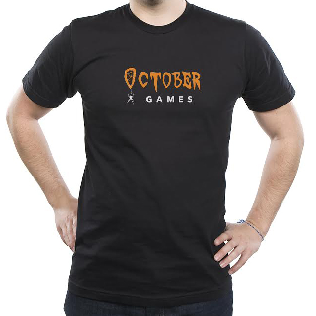 Support the October Games team by picking up our official shirt now available at Threadless.com