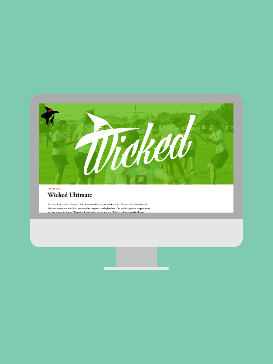 Web Design For Wicked Ultimate Steph Rupp Llc Kc Freelance Web Design And Photography