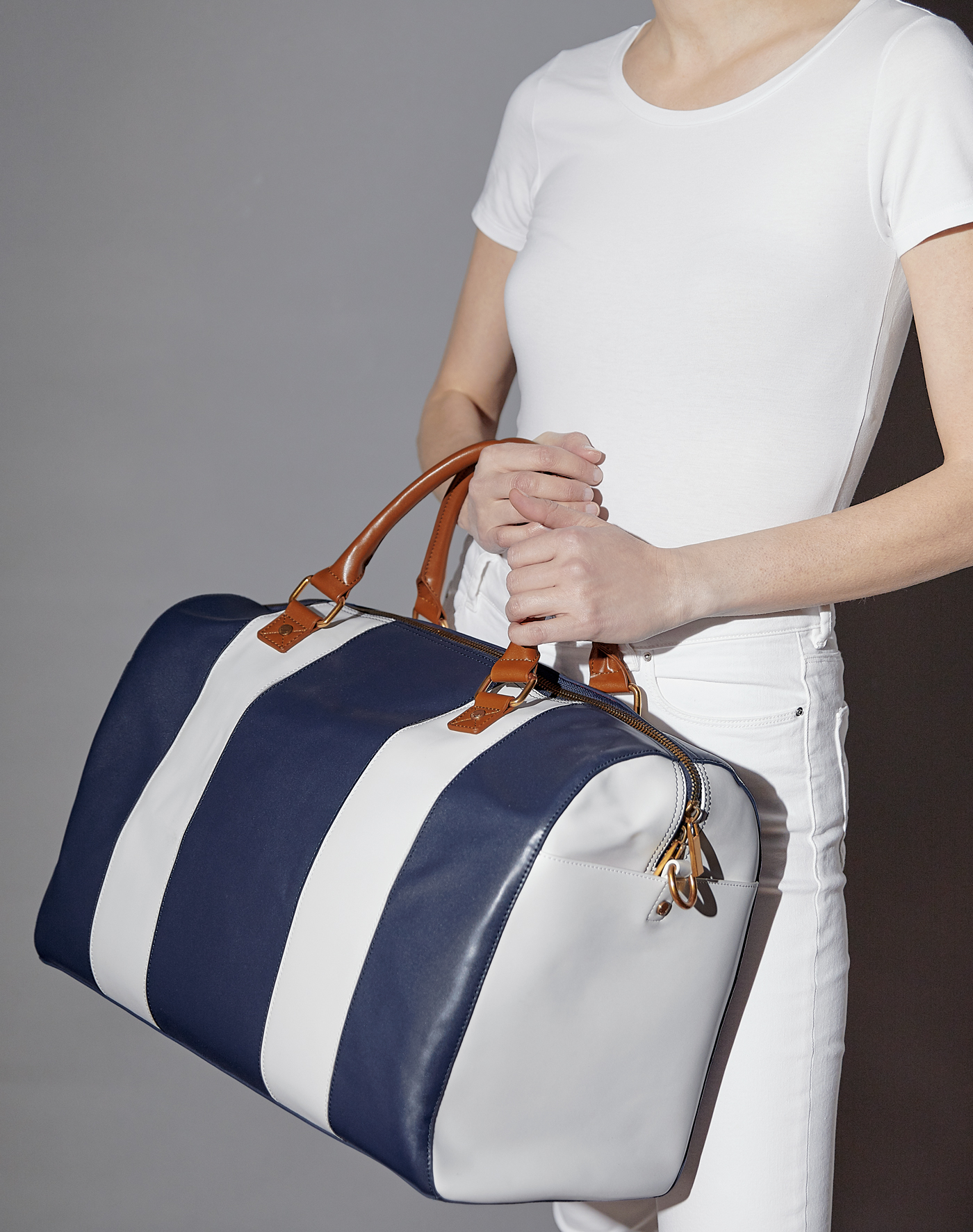 Cabana Weekender in Navy, $115. Photography by s Deux Lux team.