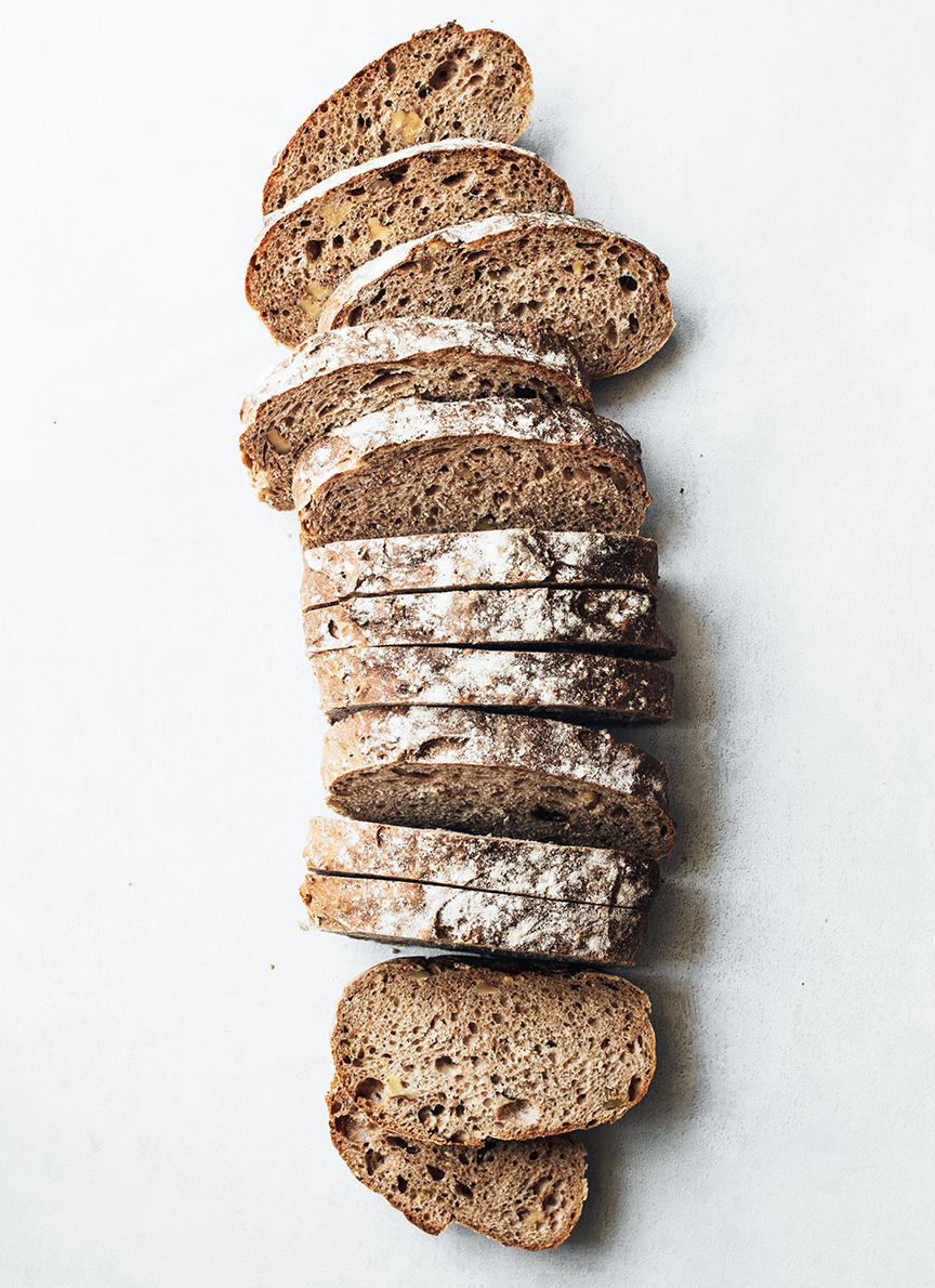 """Make your own bread, it is so much cheaper and you can make whatever weird bread flavors you wants. Supermarket cheap bread can't even compare in taste and nutrition to make up enough for the minimal cost in savings. Not to mention the extra plastic waste from buying bagged bread.""  Words by Laura Botero in Ecostyle. Photo by  www.unsplashed.com ."