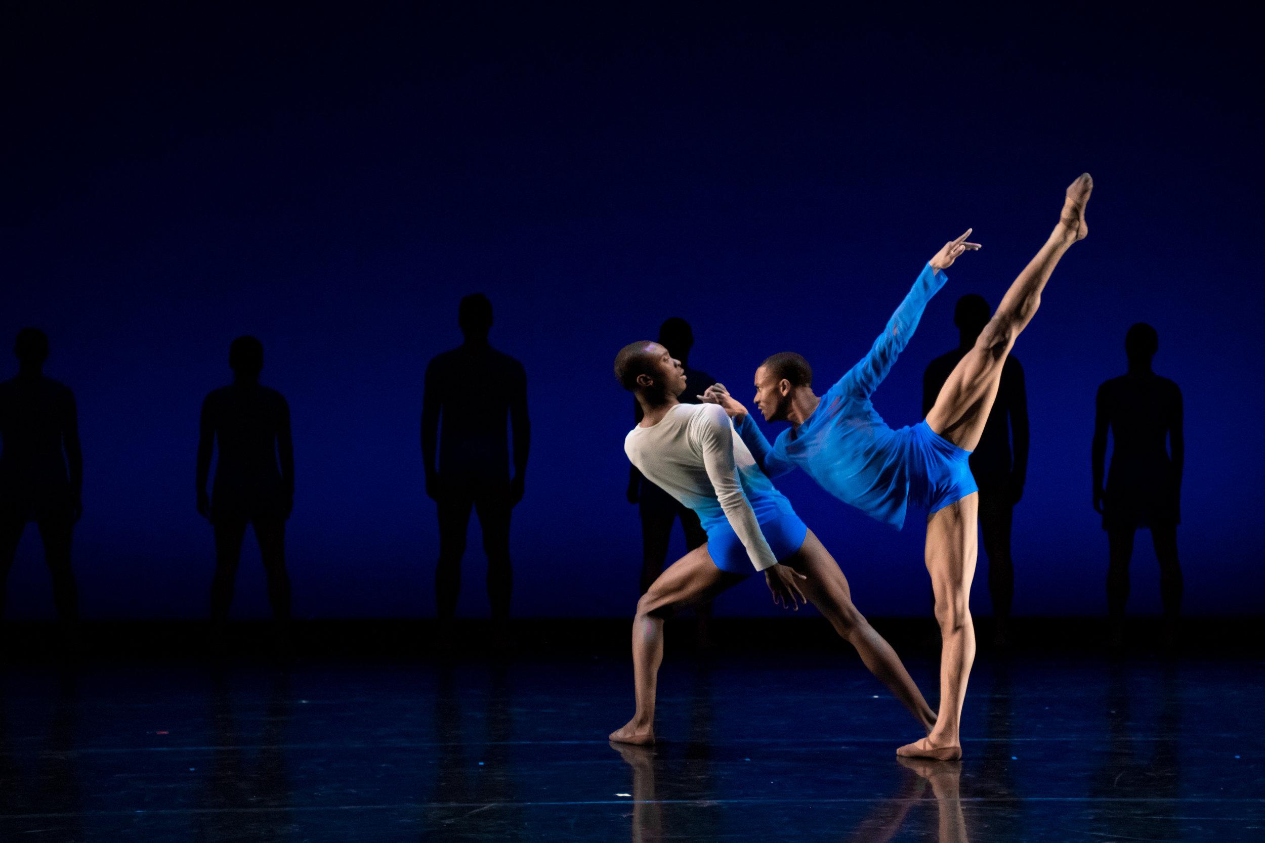 Photography Credits:  YONDER - for BalletX  Choreography: Wubkje Kuindersma  Photographer : Vikki Sloviter  Dancers BalletX: Stanley Glover & Roderick Phifer