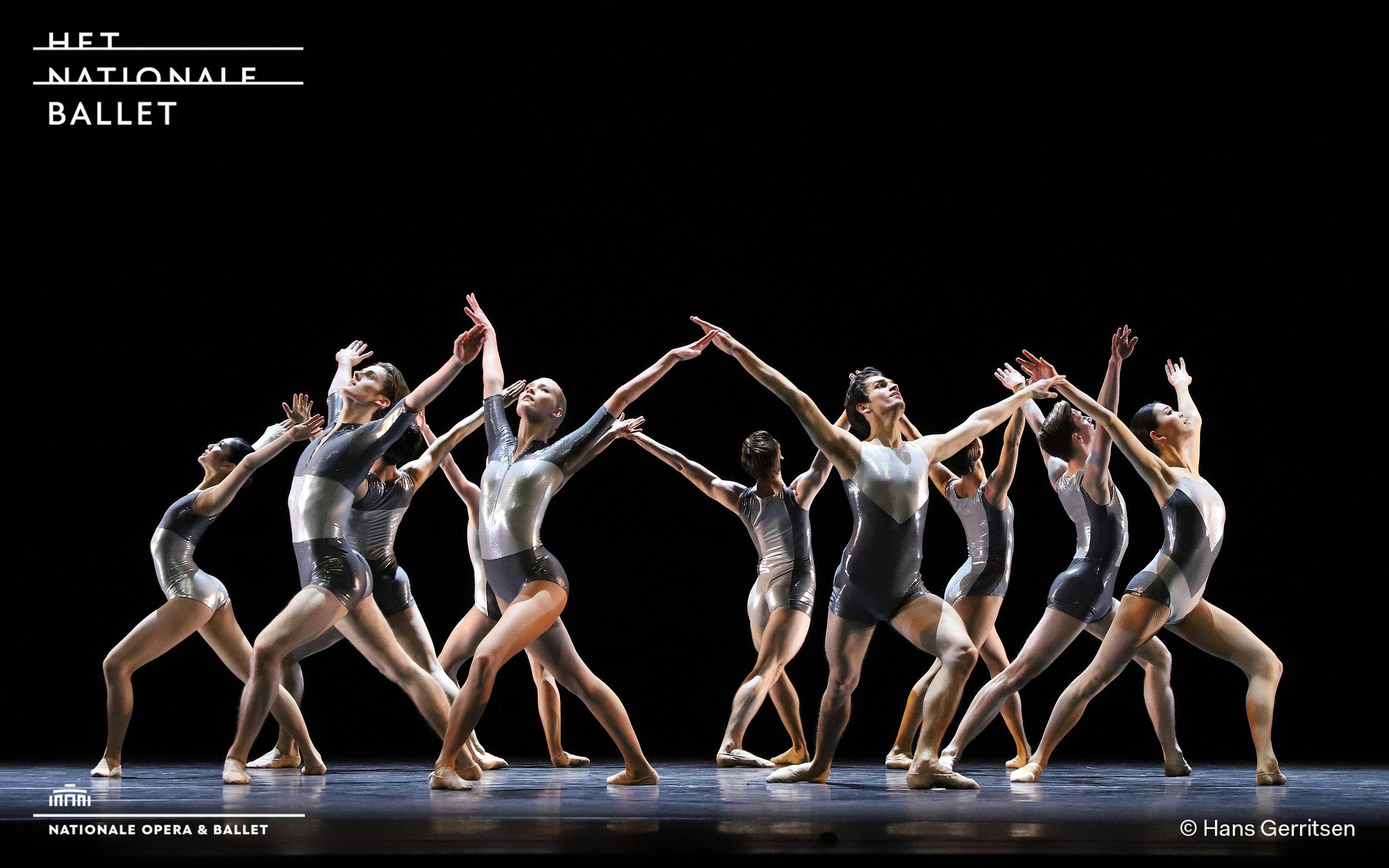 Photo Credits:  MESMER - for Dutch National Ballet Junior Company  Choreography: Wubkje Kuindersma  Photographer: Hans Gerritsen  Dancers: Dutch National Ballet Junior Company
