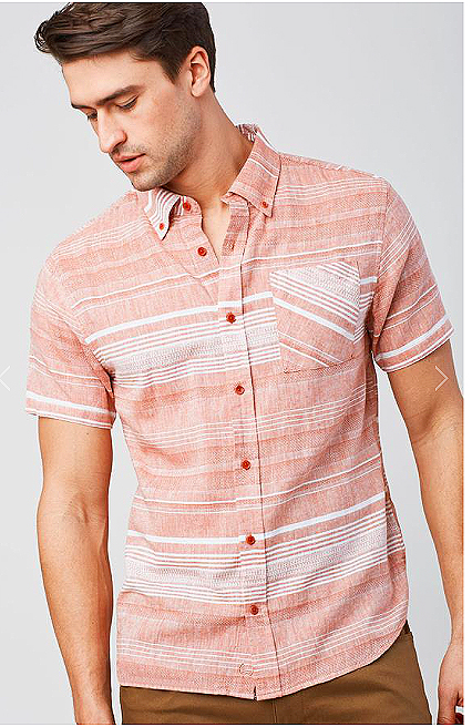 SHOP NOW/MADE IN USA.  Ridgerunner Striped Button Down  https://fave.co/2HevLlM