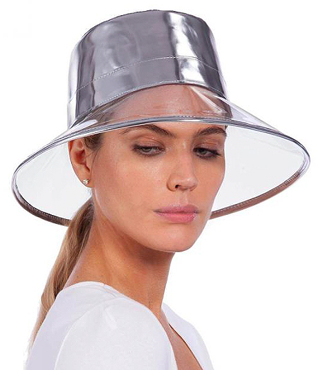 SHOP NOW/MADE IN USA  GOGO RAIN BUCKET - CRYSTAL/SILVER  https://fave.co/2Jhu619