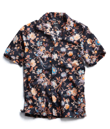 Liberty Camp Collar Floral Print Shirt  https://fave.co/2YnOK39