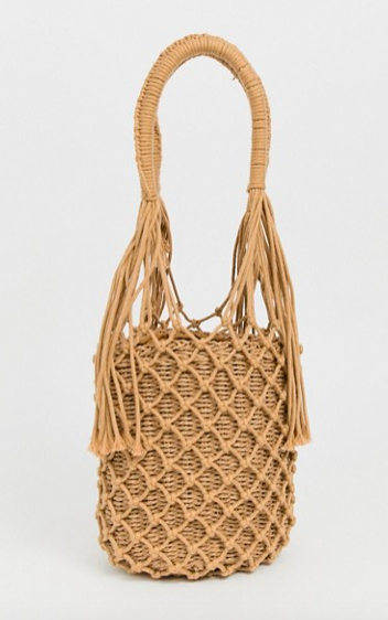 My Accessories London Exclusive Woven Straw Shoulder Bag   https://fave.co/2Meb0eB