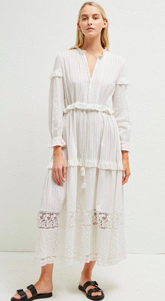Coletta Cotton Broidery Dress   https://fave.co/2Mhfz7N