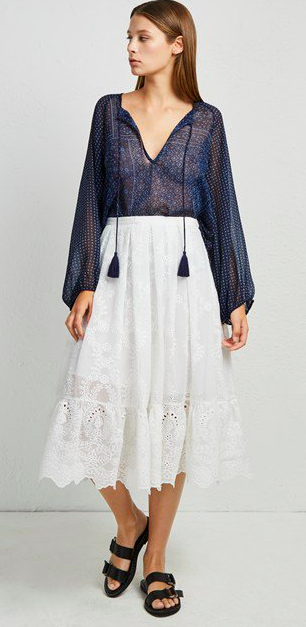 Camelia Lace Flared Skirt   https://fave.co/2IbTVNg