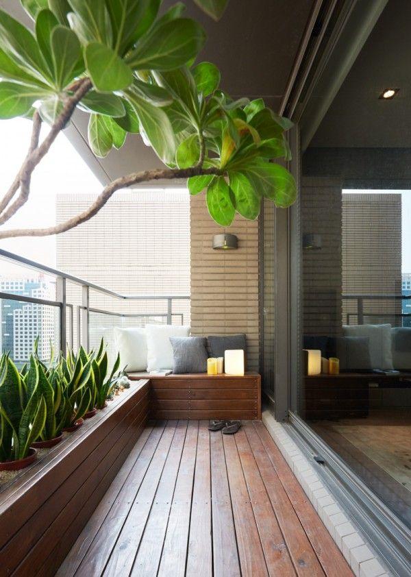 balcony garden - garden maintenance
