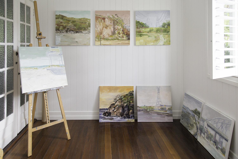 julia siriani's studio