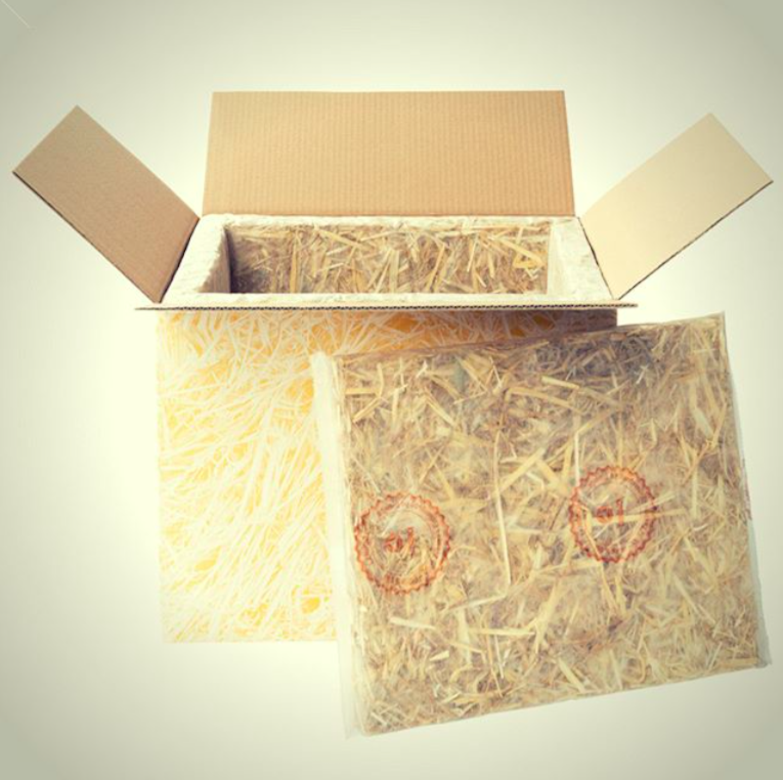 ökoLOGISCH! Wir versenden mit kompostierbaren Isolierboxen! -