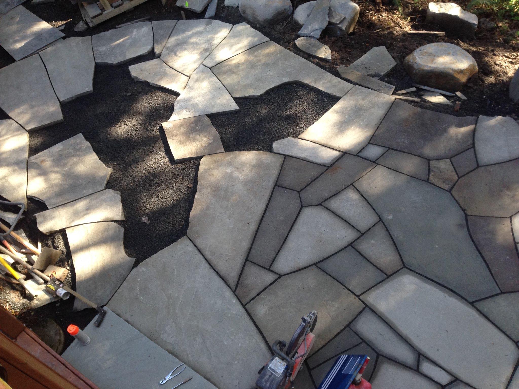 Custom stonework -