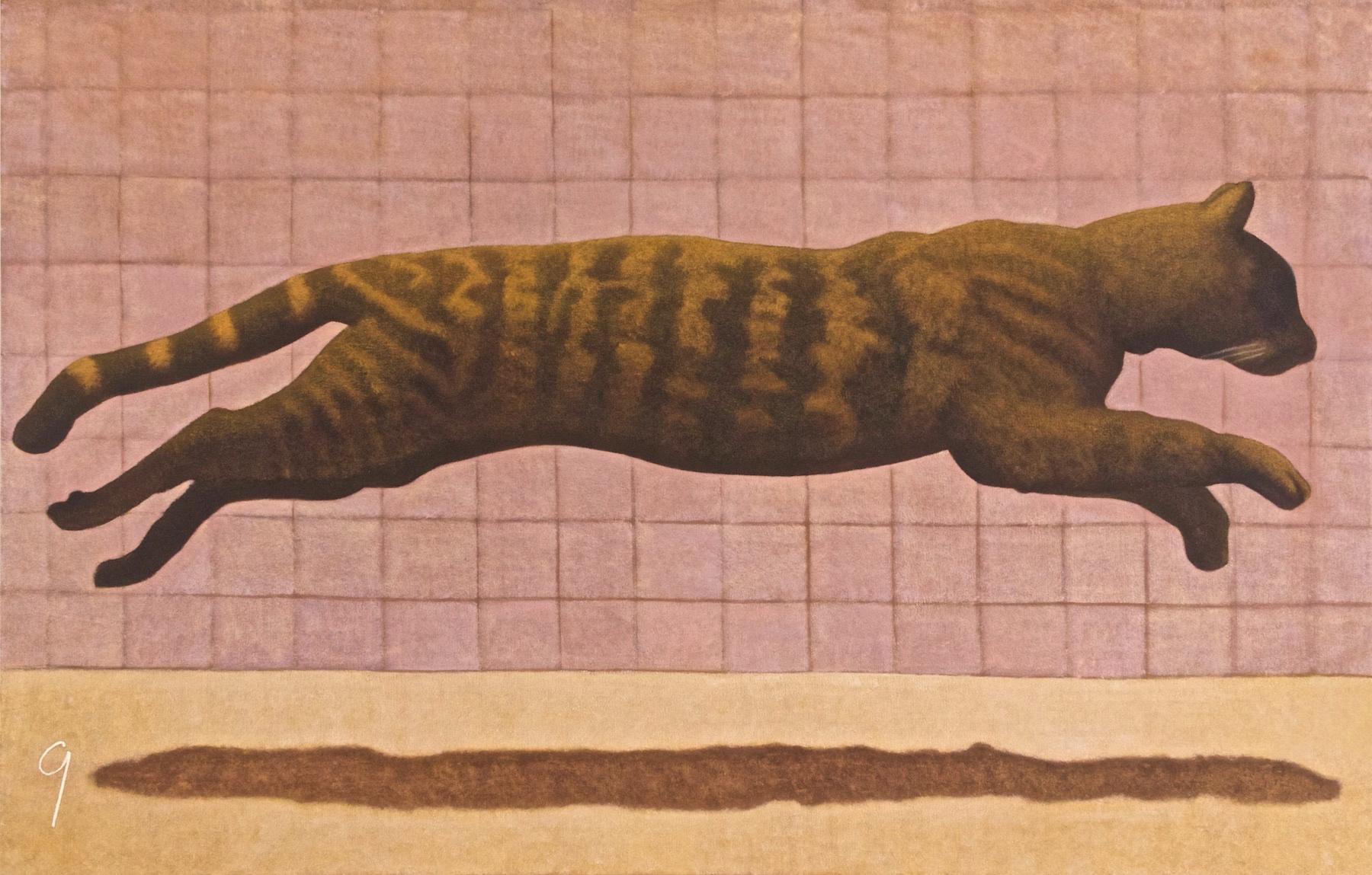 CAT JUMPING NO. 9
