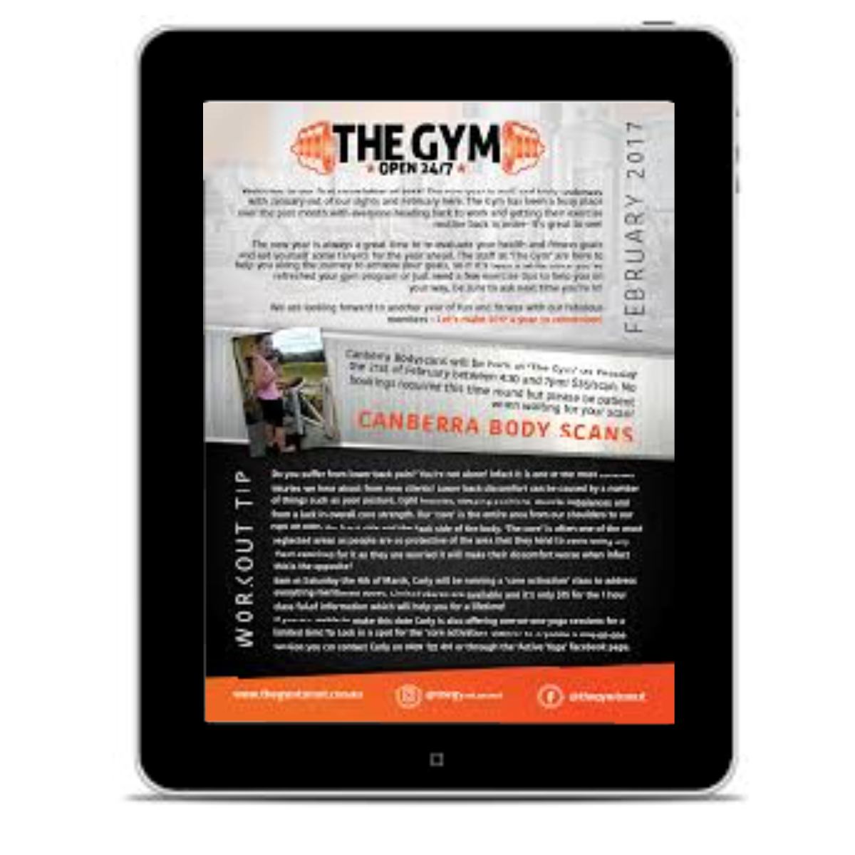 The Gym Newsletter