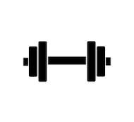 Fitness Marketing Dumbell