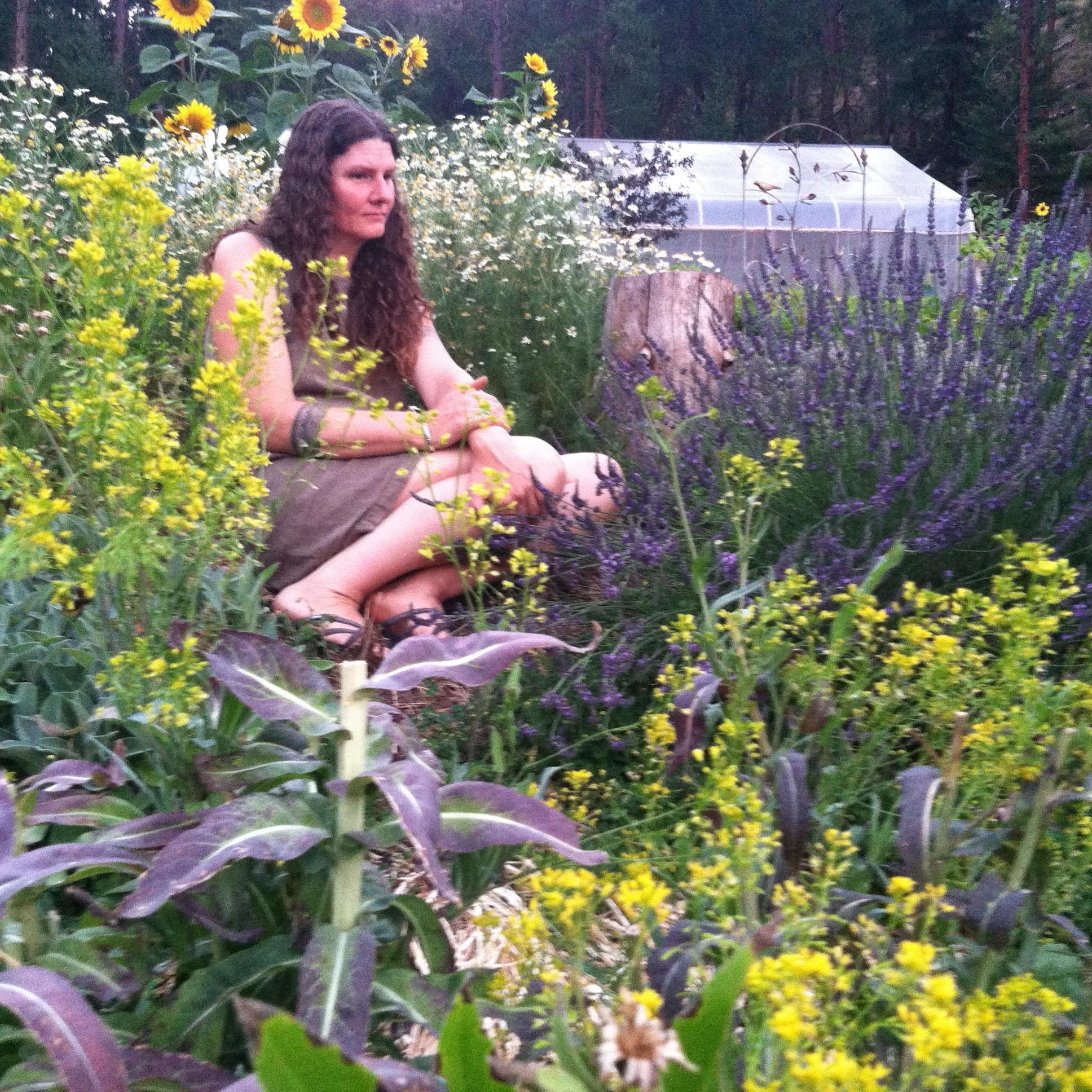 Lovin' my herb garden