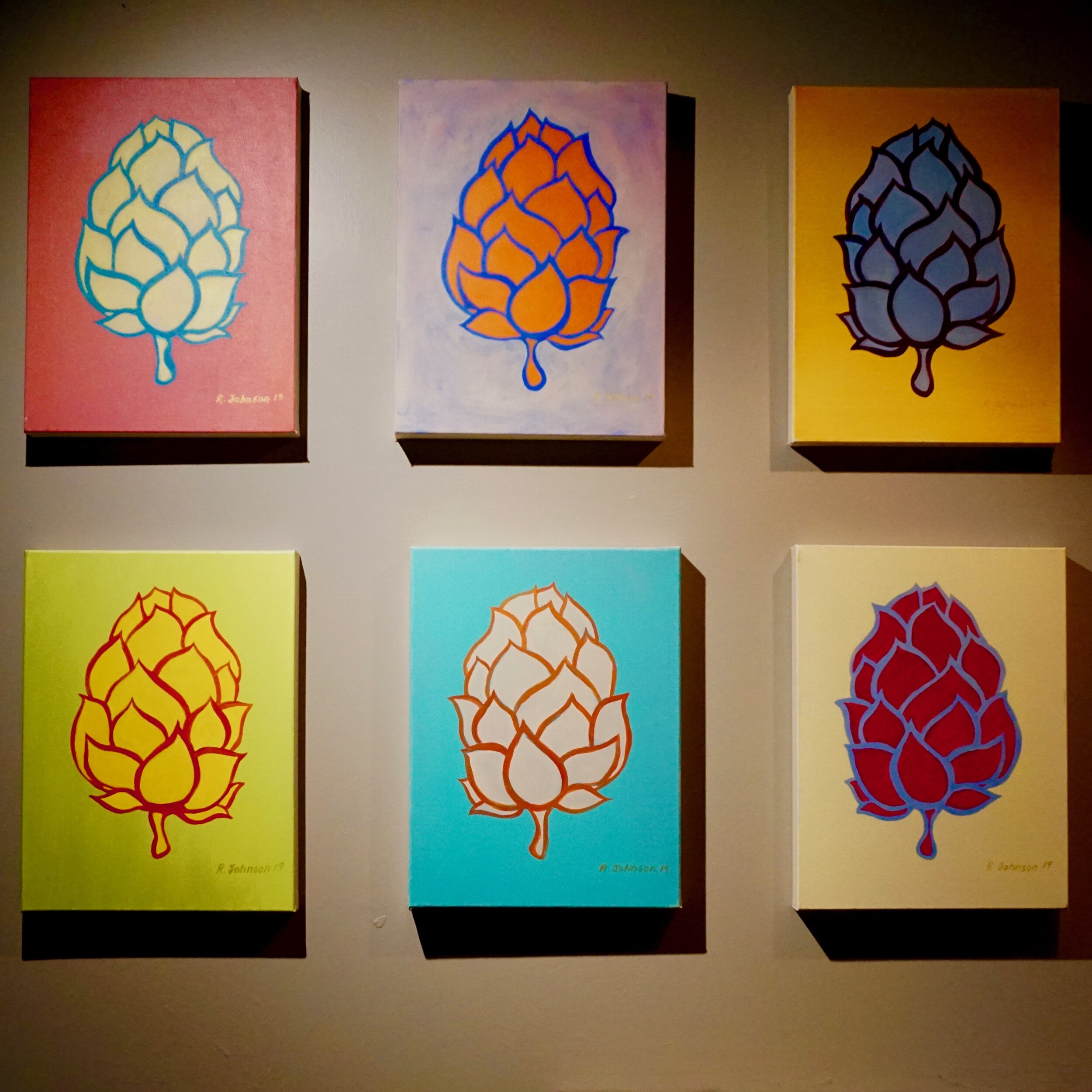 Check out our beautiful artwork from local artist Ron Johnson. To see more of his work visit   workbyronjohnson.com