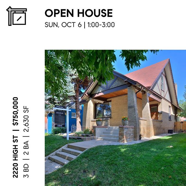 Come see us at an Open House today.  Way better than watching the 0-4 Broncos.  #teamreinvent #denverrealestate #denveropenhouse #sundayfunday