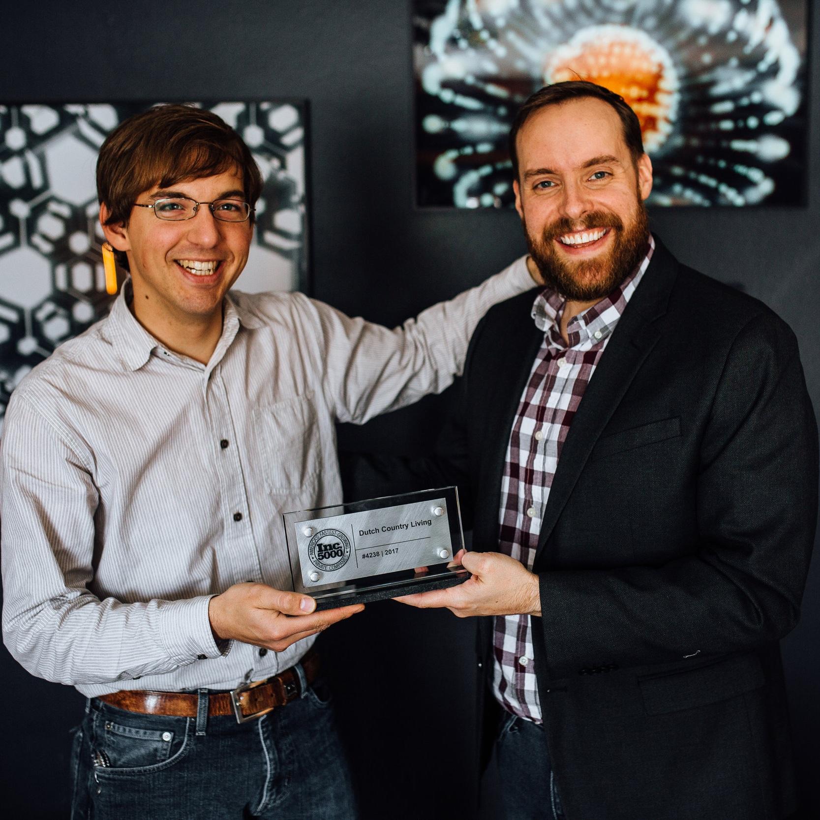 Levi Good Inc5000 Award