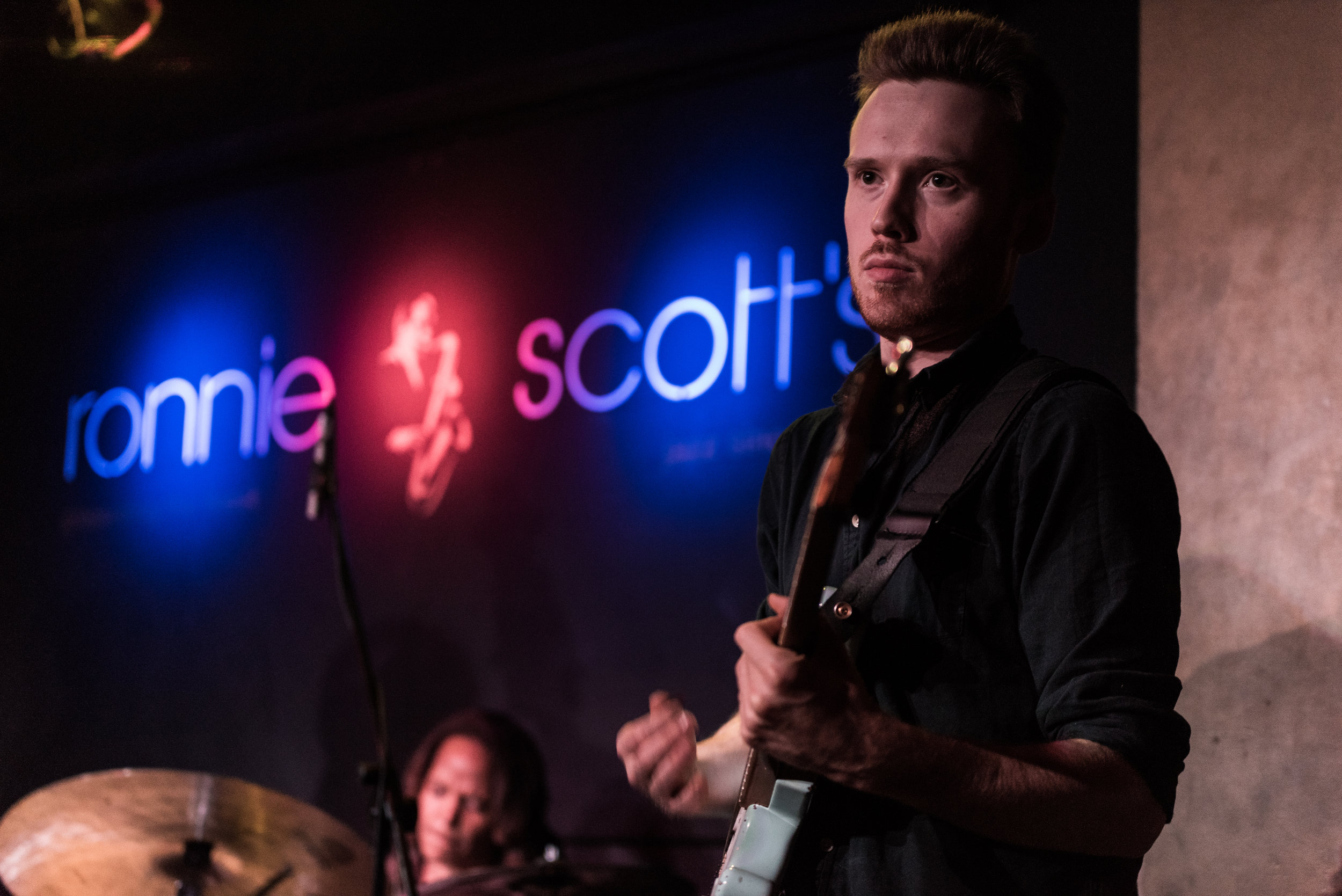 Ben Eunson performing with Terri Lyne Carrington at Ronnie Scotts, London 2015  (Photo by Benjamin Amure)