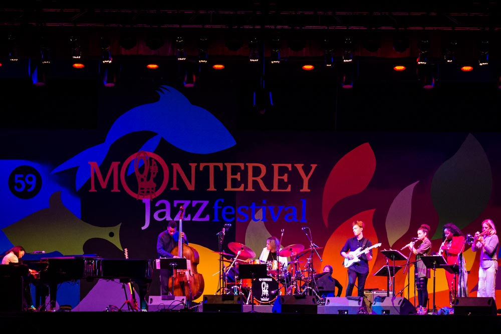 Ben Eunson performing with Terri Lyne Carrington's Mosaic Project at The Monterey Jazz Festival, 2016  (Photo by Robert Wade)