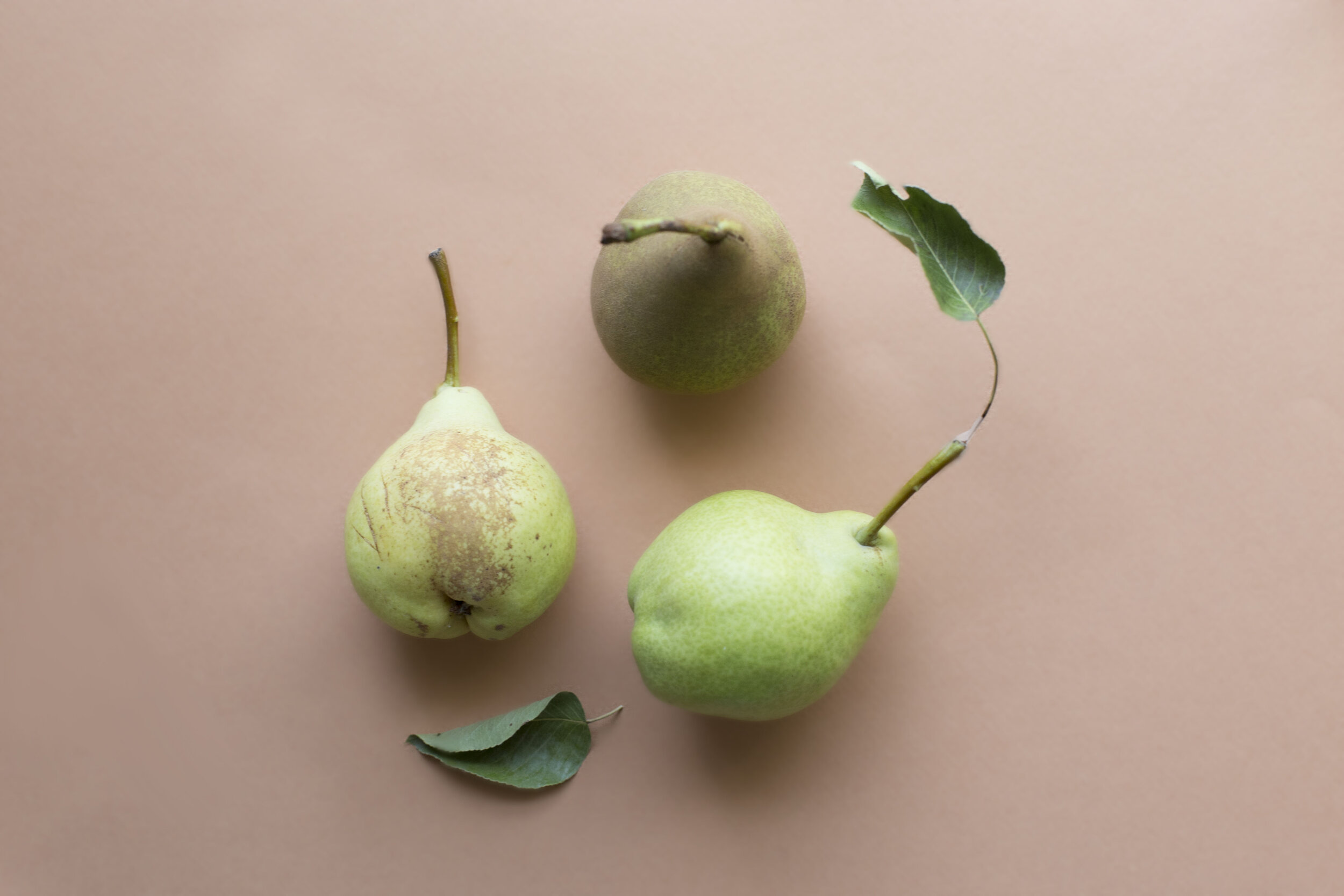 When your pears start to brown, turn them to a tart or jam!