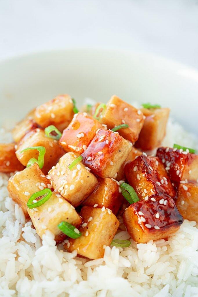 15 Minute Orange Tofu