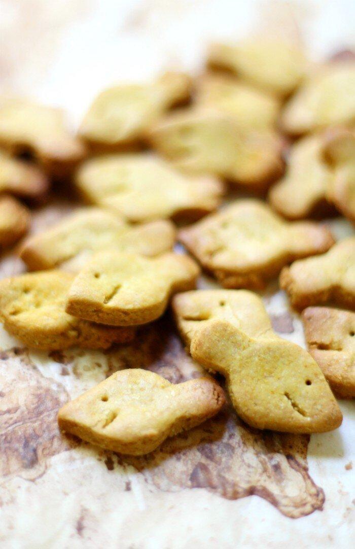 DIY Gluten-Free Goldfish