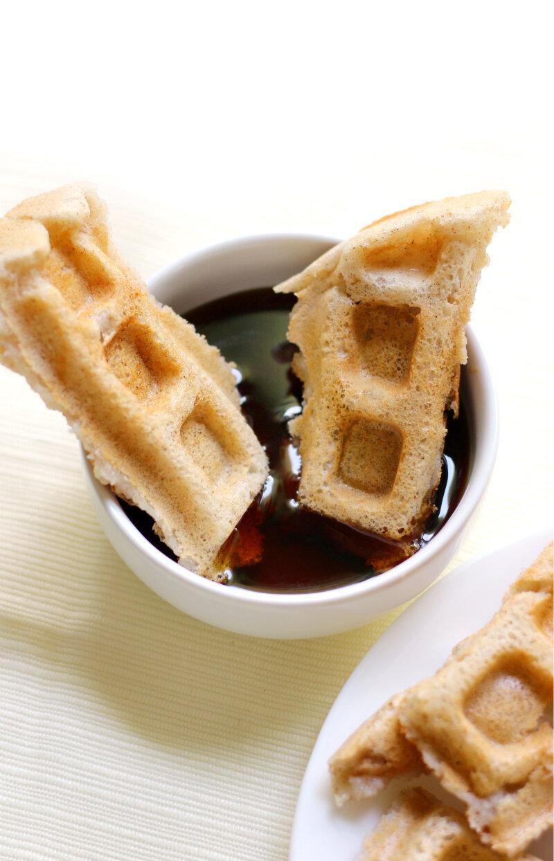 Applesauce Waffles