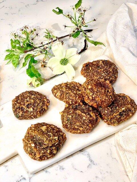 20 Minute Sweet Potato Oatmeal Cookies