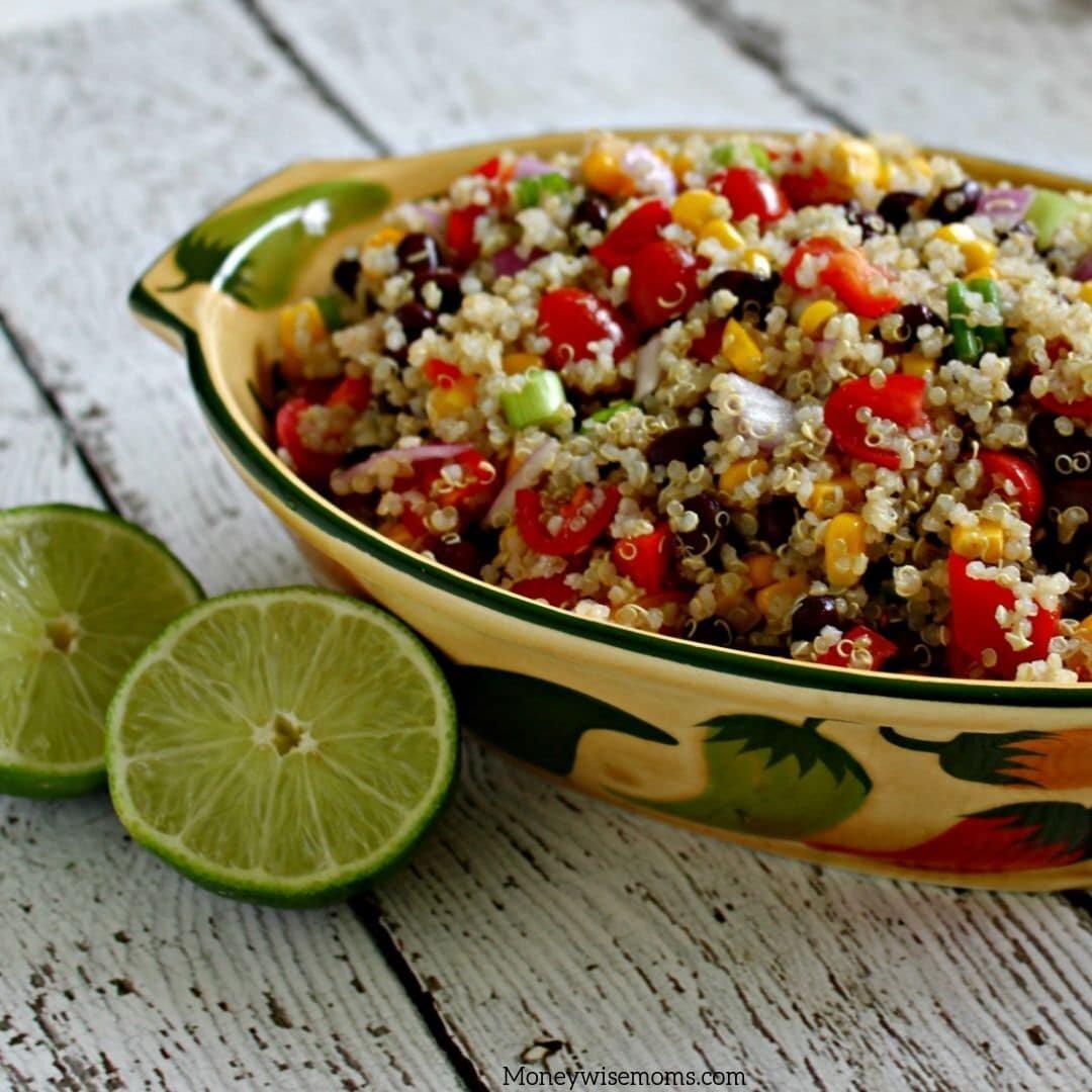 Easy No-Oven Quinoa Salad