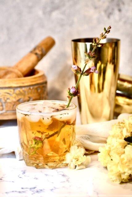 bourbon sage cocktail