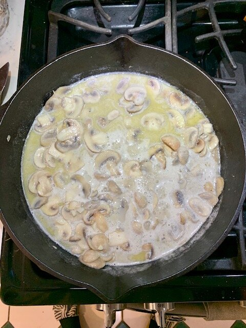 vegan green bean casserole add nondairy milk