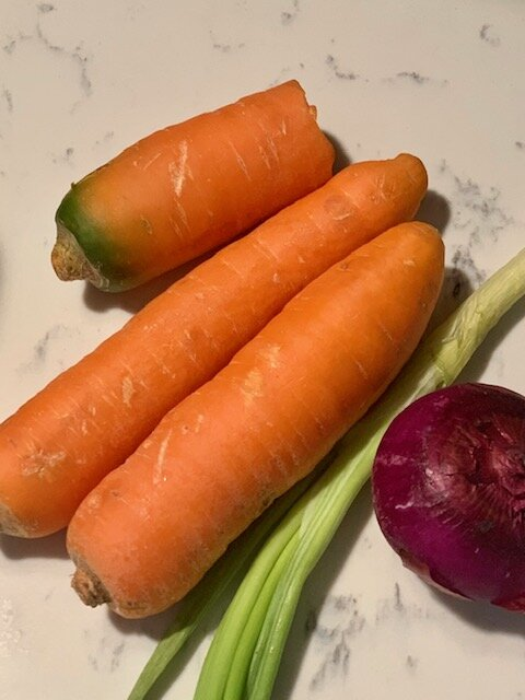carrots for carrot soup