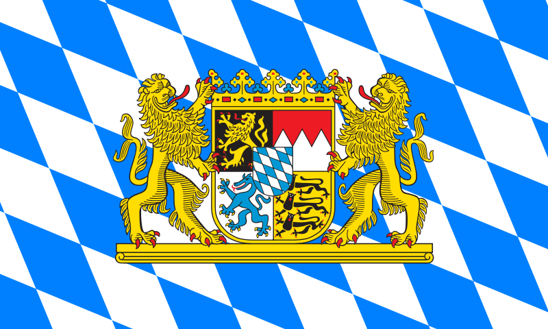 Horizontal Lozengy Flag with Greater Coat-of-Arms Large
