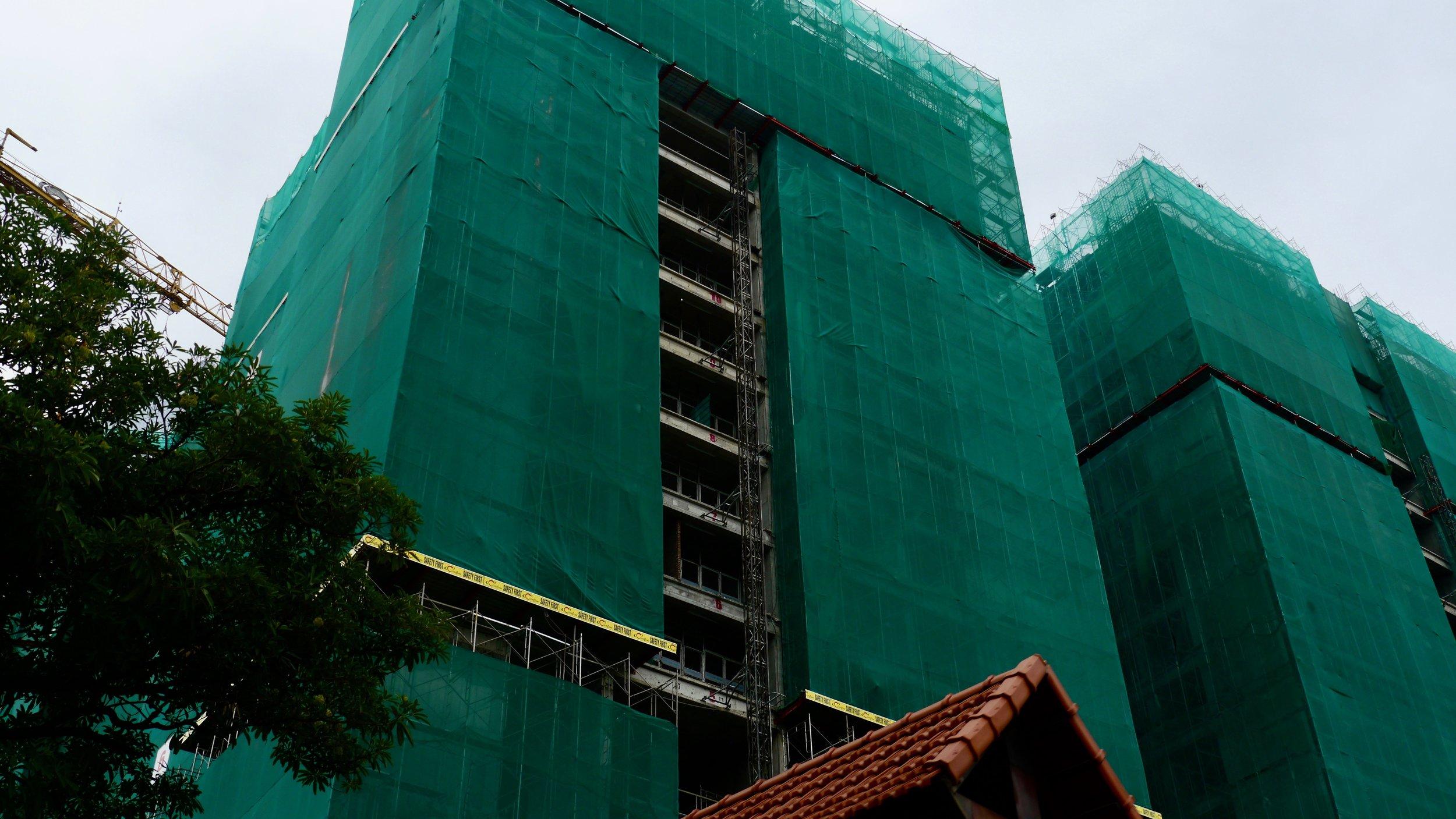 Peri-Urban Construction 03, Hanoi