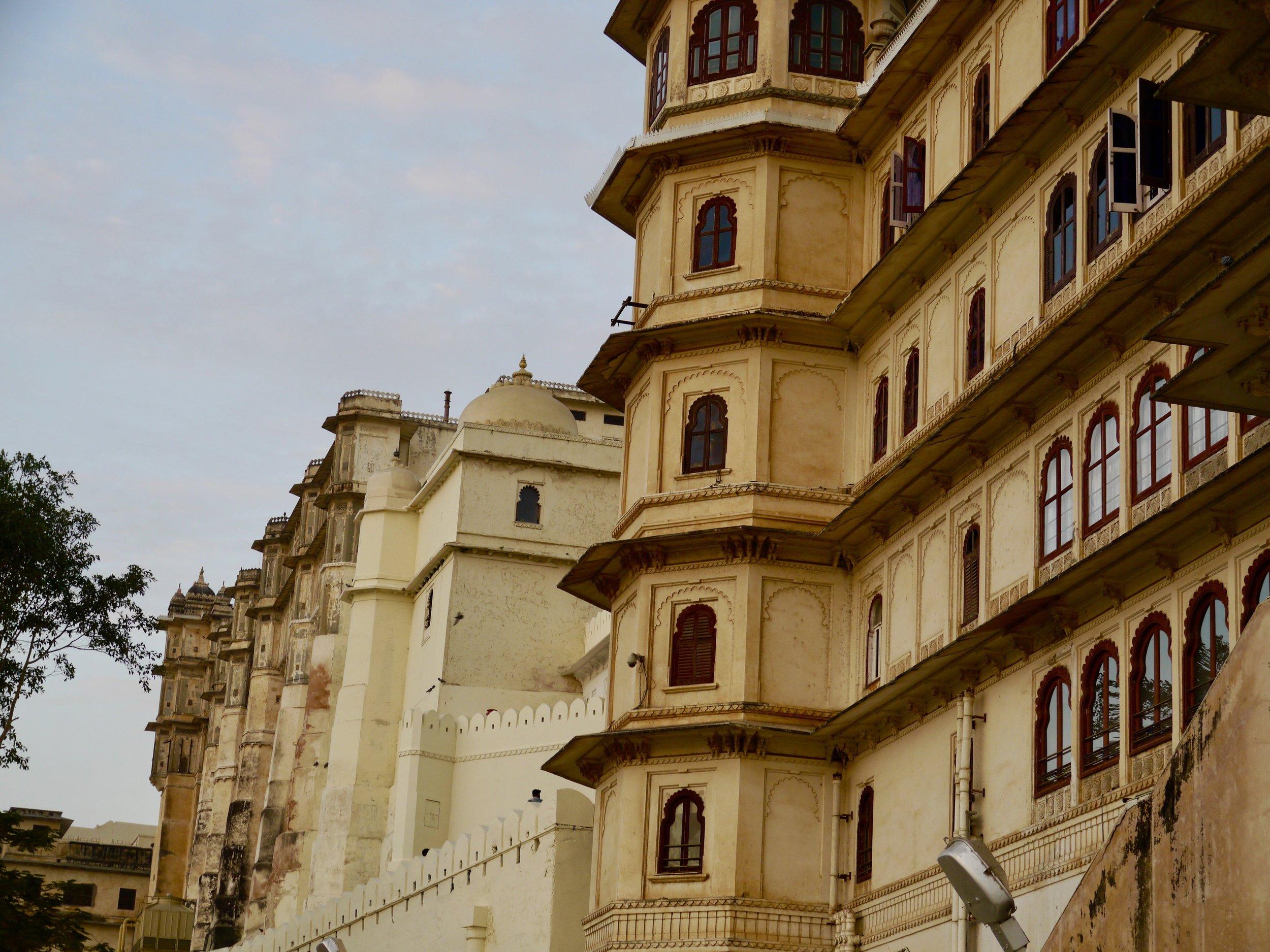 'City Palace', Udaipur