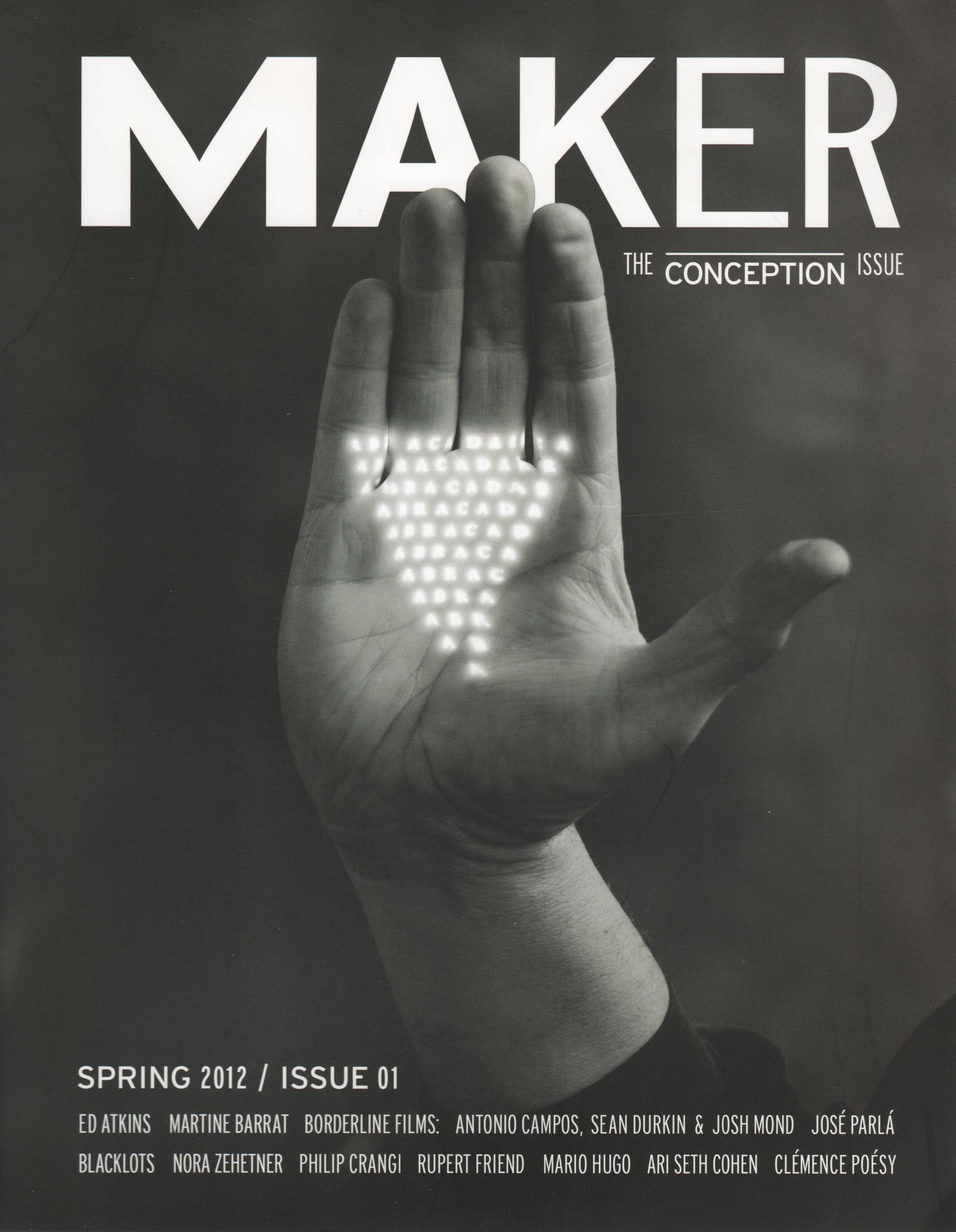 Nicole Polletta Studio Maker Magazine cover