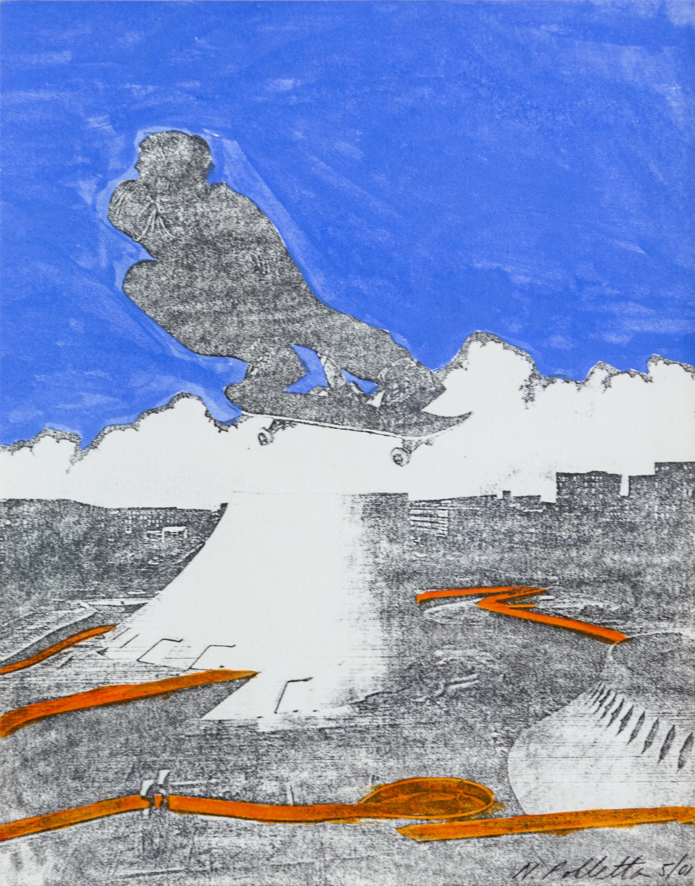 Nicole Polletta Studio Mixed Media Collage Utopian Dystopia series  free /style