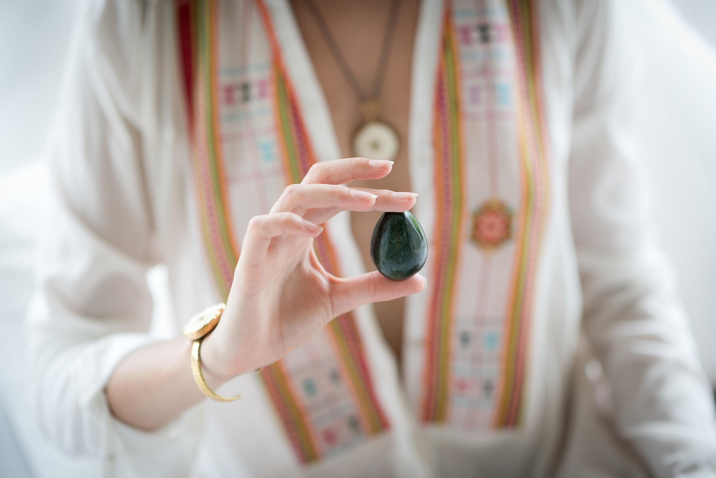 Jade Egg, Breathwork + Guided Meditation Practices -