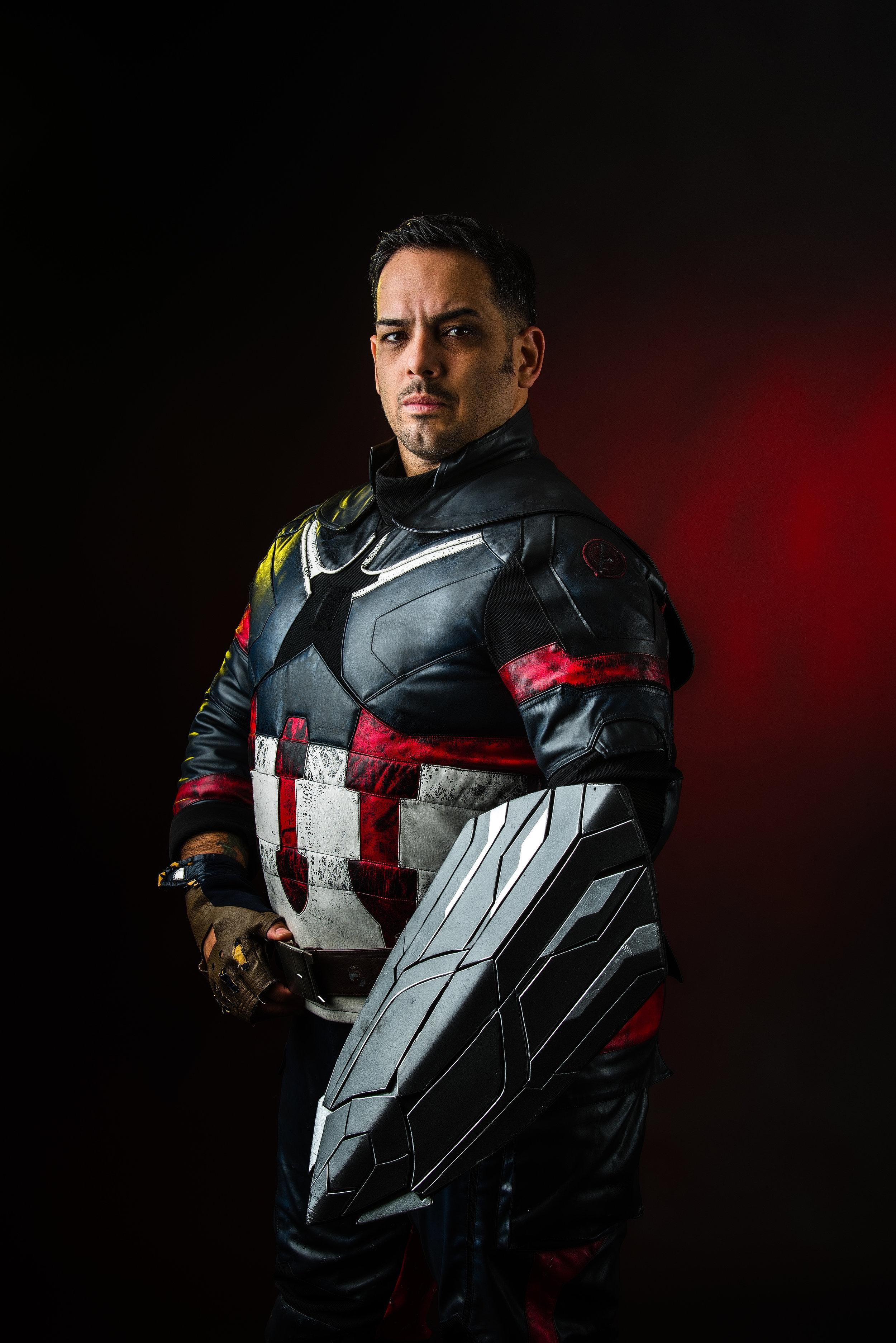 Captain America (Infinity War Version)