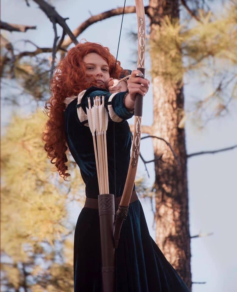 Merida of DunBroch!