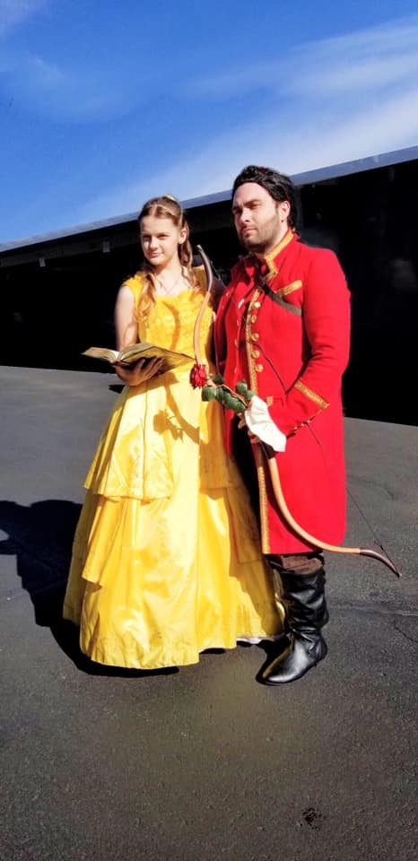 Bella and Gaston