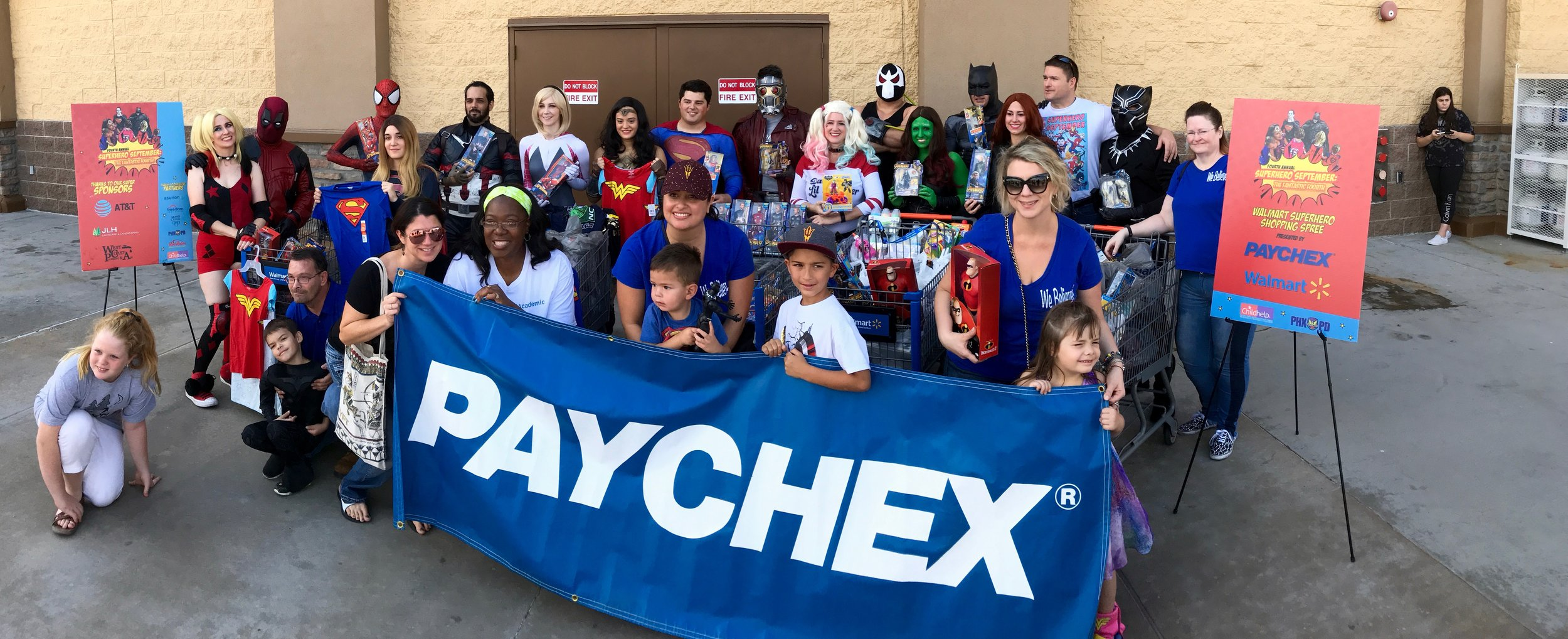 Paychex Shopping Spree