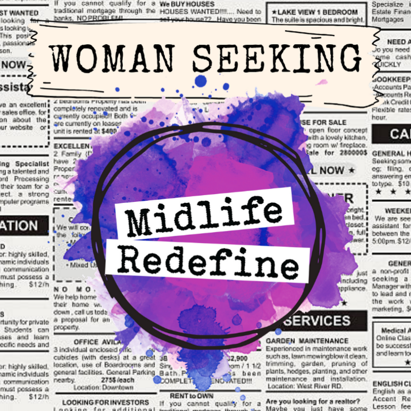 MIDLIFE REDEFINE MEMBERSHIP - The membership community for women at a pivot-point.If you're ready to STOP the fear & worry and WELCOME unstoppable glory — this is for YOU!