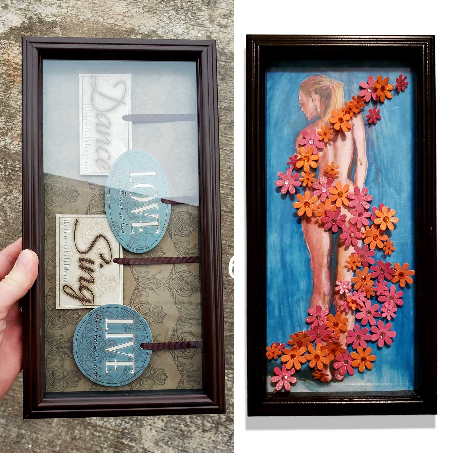 this to this - How to Re-purpose awful art