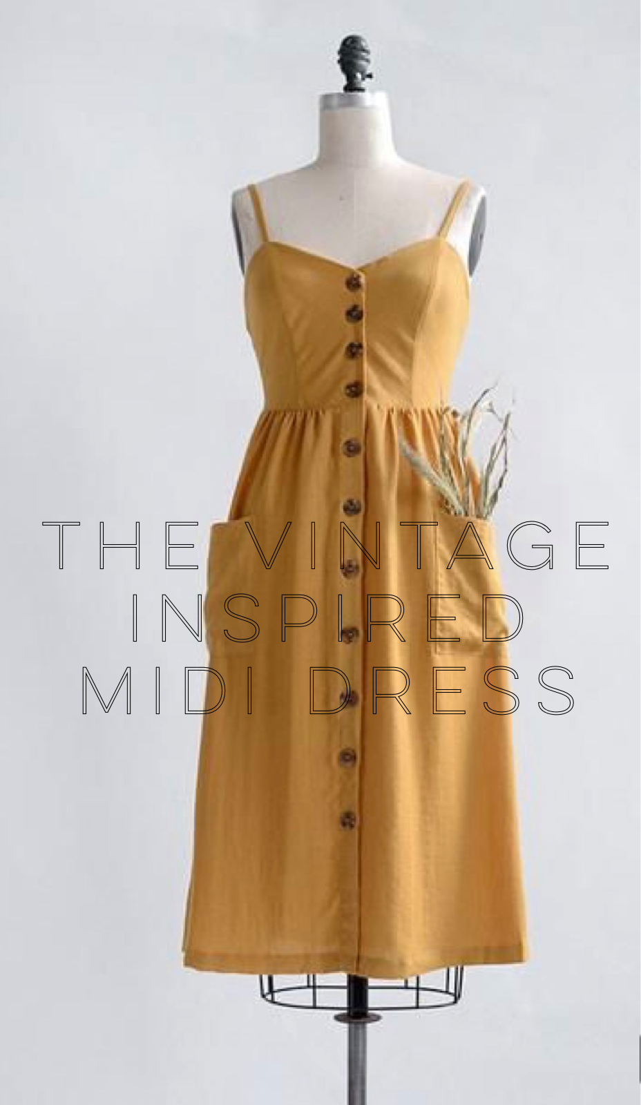 Photo and dress from  Adored Vintage . This dress is no longer available, but I have linked some like it below.