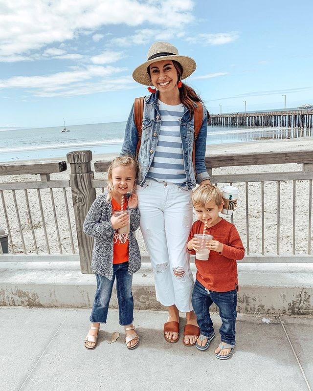 Happy Memorial Day, friends! So grateful to those who have paid for our freedom! 🇺🇸 Celebrating with a visit to the beach & a 10% off sale on my site! Enter code: MEMORIAL10 at checkout! 😘 . . . #madeenough #madeenoughshop #memorialdayweekend #livinginfreedom #momstyle #mamastyle #ootd #targetstyle #targetdoesitagain #centralcoast #motherhoodthroughig